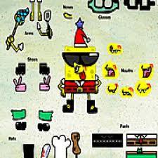spongebob dress up game