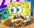 سبونج بوب في لعبة delivery dilemma sponge bob