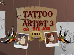 tattoo artists a game flash free online for girls