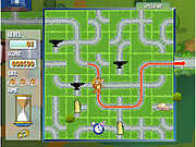 game tom jerry cartoons cheese chasing maze online