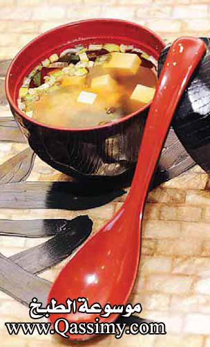بالصور طريقة عمل شوربة الميسو المطبخ الياباني