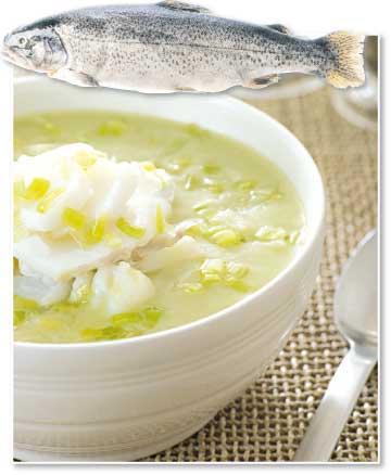 شوربة وحساء السمك على الطريقة الإيطاليّة